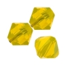 Swarovski Bead 5328 Bicone 6mm Yellow Opal 60pcs